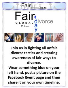 Global Fair Divorce Day Fair Divorce, Sinta Ebersohn, Divorce Mentor, Stop Unfair Divorce Tactics Divorce And Kids, After Divorce, Collaborative Divorce, Anti Bullying Campaign, 25 June, Bullying Prevention, Event Page, Co Parenting, Teaching