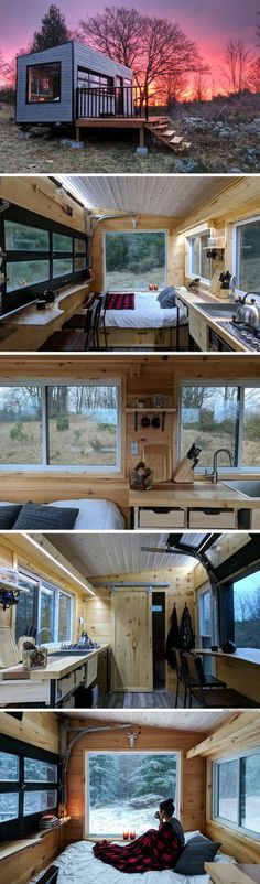 Tiny House 2 More memes funny videos and pics at Small Tiny House, Tiny House Cabin, Tiny House Living, Tiny House Plans, Tiny House Design, House 2, Small Living, Food House, House Yard