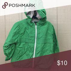 Green lined windbreaker gap jacket Green lined windbreaker gap jacket Jackets & Coats