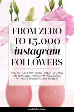 From 0 to 15,000 instagram followers: the 10 FREE strategies I used to grow an engaged instagram following this year