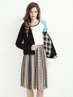Love this idea to pair boy shirt with girlie skirt!  madewell  fashion   d309b52544c29