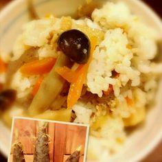 タケノコご飯でけましたヾ(@゜▽゜@)ノ タケノコご飯って…ご飯と一緒に炊き込むのか、炊けた後に混ぜるのか…。どっちのが美味しいの??アタシは、炊けた後に混ぜるんだけど。 初物のタケノコ柔らかくて美味しかったよ♪ タケノコまだ沢山あるので、美味しいレシピあったら教えて下さい\(^-^)/ - 110件のもぐもぐ - タケノコご飯でけた( ´∀`) by kimikaka