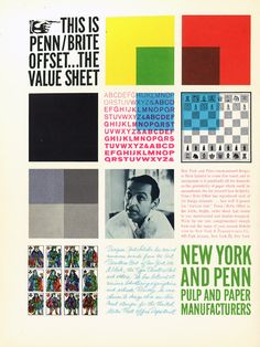 34 Brilliant Graphic Design and Paper Ads From the '60s   Print Magazine