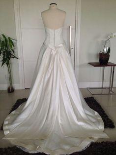 Vestido de Noiva - Costas