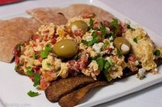 Turkish Eggs With Tempeh Bacon