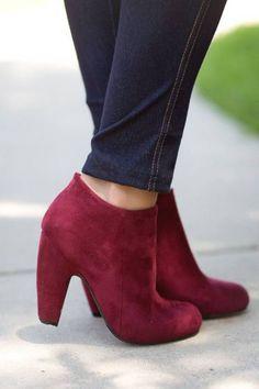 Zapatos Borgoña, exquisitos.