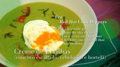 Ingrediente Secreto | Episodios | 5/11 Ervilha | Creme de Ervilhas (com ovo escalfado, cebolinhas e hortelã)