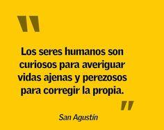 San Agustín. #frase #pensamiento