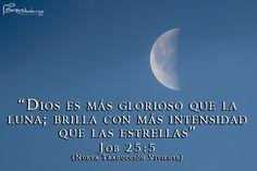 Dios es más glorioso que la luna « Letreros Cristianos.com :: Imagenes Cristianas, Imagenes para Facebook, Frases Cristianas