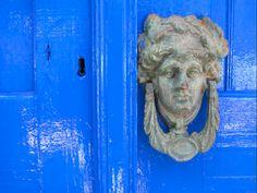 Door Knocker, Loutro, Crete, Greece