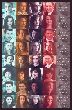 The Cullen's in *The Twilight Saga*