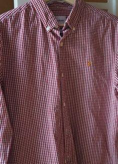 À vendre sur #vintedfrance ! http://www.vinted.fr/mode-hommes/chemises-a-carreaux/48780598-chemise-farah-slim-fit-m