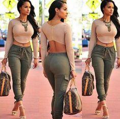 Casual long-sleeved zipper two-piece Long pants