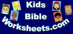 Kids Bible Worksheets-Books of the Bible Coloring Pages