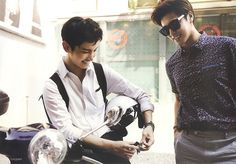 They are so cool! And handsome!