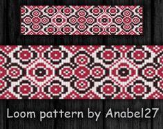 Loom bead pattern ethnic style beaded от ColorfulBeadPatterns