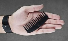 Beard Combs Made Out Of Vinyl Records | Cool Material