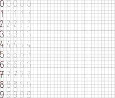 Tracing Worksheets, Math Equations, Words