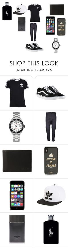 """""""do not stell my men outfit"""" by ziggyzoe on Polyvore featuring adidas, Vans, TAG Heuer, Carhartt, Steve Madden, Sonix, Dolce&Gabbana, adidas Originals, Tom Ford and Ralph Lauren"""