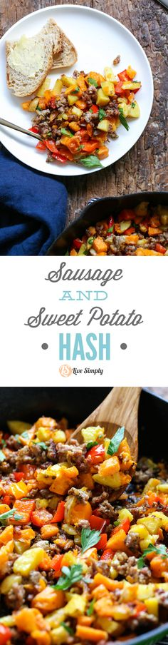 Soo good! This a family favorite every time I make it. The perfect weekend breakfast. No bagged or boxed ingredients, just simple and inexpensive real food ingredients. http://livesimply.me/2015/10/03/sausage-and-sweet-potato-hash/