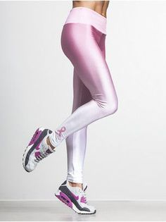 Workout for the cure. The Gail Ombre legging. For every pair sold $10 will be donated to Susan G. Komen.