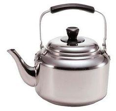 Demeyere Stainless Steel Tea Kettle: Remodelista