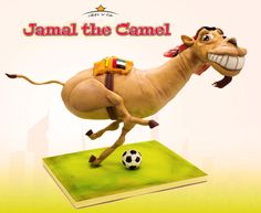 Jamal the Camel - Cake by Dirk Luchtmeijer