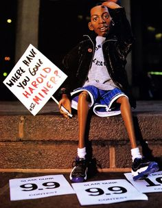 Ooh I wanted a Penny Hardaway doll sooo bad - I even loved all the sprite commercials!!!!