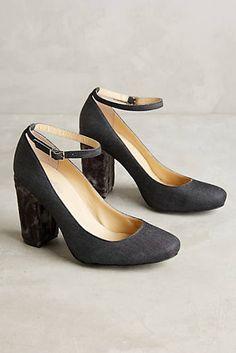 Farylrobin Tessa Velvet Heels