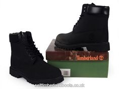 Women's Timberland 6Inch Boots-Black £64.80
