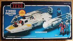Star Wars toys I had, wish I still did: Y-Wing Fighter Vehicle