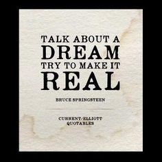 Bruce Springsteen  #currentelliott  #quotables