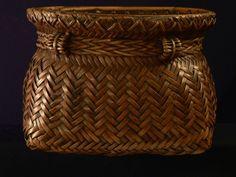 Vintage Philippine snail basket | www.ebay.com