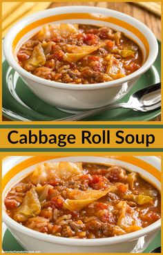 This cabbage roll soup, made in a slow cooker, is the perfect comfort meal. And it's diabetic-friendly!