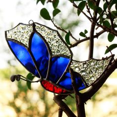 Butterfly In My Garden (Sparkle Blue) $8 only