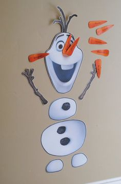 Stick the nose of Olaf