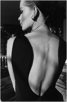 Dos D'Astrid Harper 1964 Photo Jeanloup Sieff