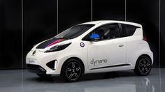 MG has developed an EV concept car named Dynamo