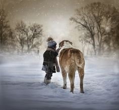 *** | Flickr - Photo Sharing! Elena Shumilova, Russian mom who's gone viral. AMAZING images of her 2 sons & farm animals & pets.  Lighting is magical.