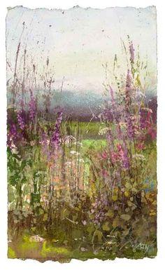 Amanda Hoskin - Wildflowers and Foxgloves