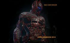 One of my new creations called Neo Enforcer. Copyright 2014.