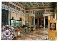The New Hermitage ~ The Rapheal Hall (Hall of 16th Century Italian Majolica)
