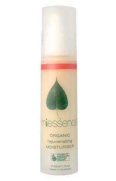 Miessence Organic Rejuvenating Moisturizer (dry/mature skin) - Sample Sachet 10 Pack. $7.45