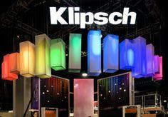 Klipsch CEDIA booth - The Exhibit House #design #tradeshow #eventprofs