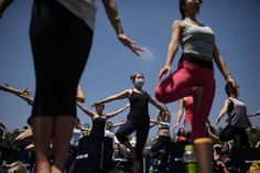 the International #Yoga Day event in #Seoul, South Korea on June 21, 2015