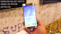 Samsung Galaxy Note 5 review, hands on, initial impressions