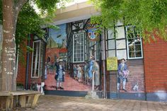 Mudge Mural Meanderings, Gisborne    Graeme Mudge Murals are found throughout Gisborne city... as you take a leisurely meander around the city.