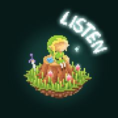 The Legend of Zelda - Pixel Art Tribute Created by Rahul Parihar
