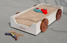 Montessori floor bed by Woodlyecodesign on Etsy