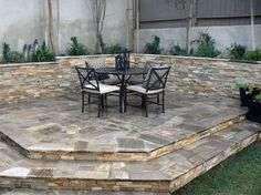 raised patio | Patio - Hermosa Beach, CA - Photo Gallery - Landscaping Network